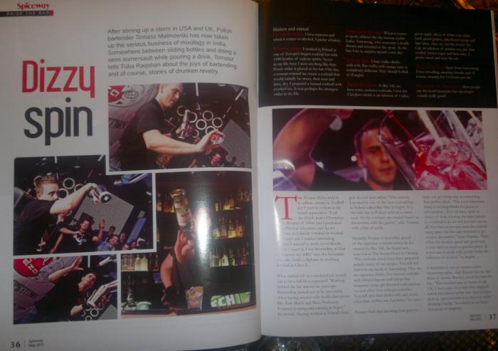 Tomasz Malinowski - Wywiad do magazynu Spiceway